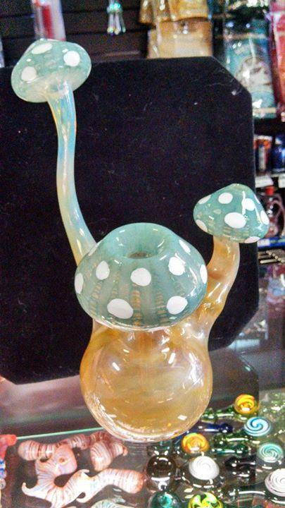 mushroom bubbler